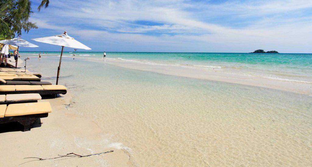 Фото пляжа у отеля Центара Тропикана Ко Чанг