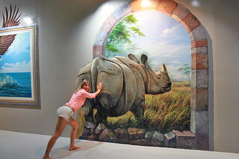 Фото 3D галереи в Паттайе