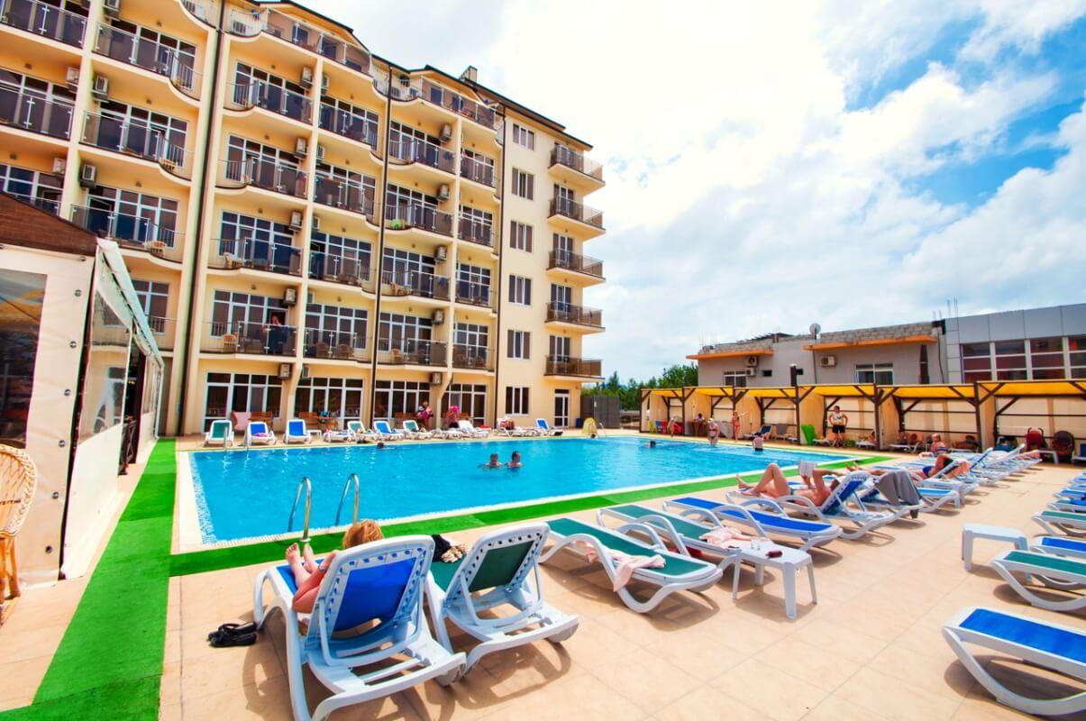 Ателика Гранд Меридиан - олинклюзив отель в Витязево
