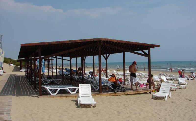 Фото пляжа пансионата «София»