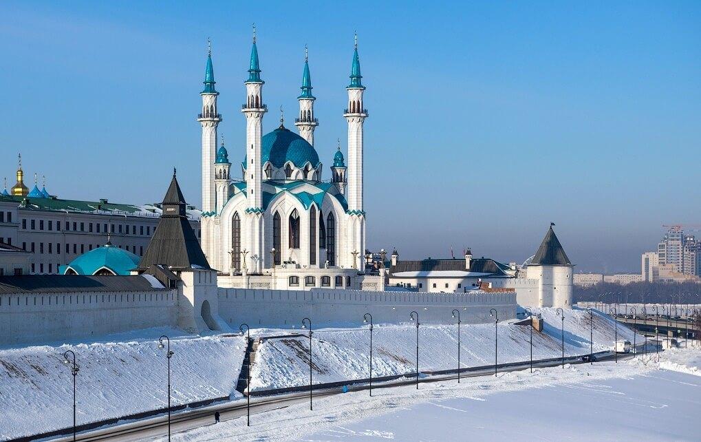 Фото зимней Казани