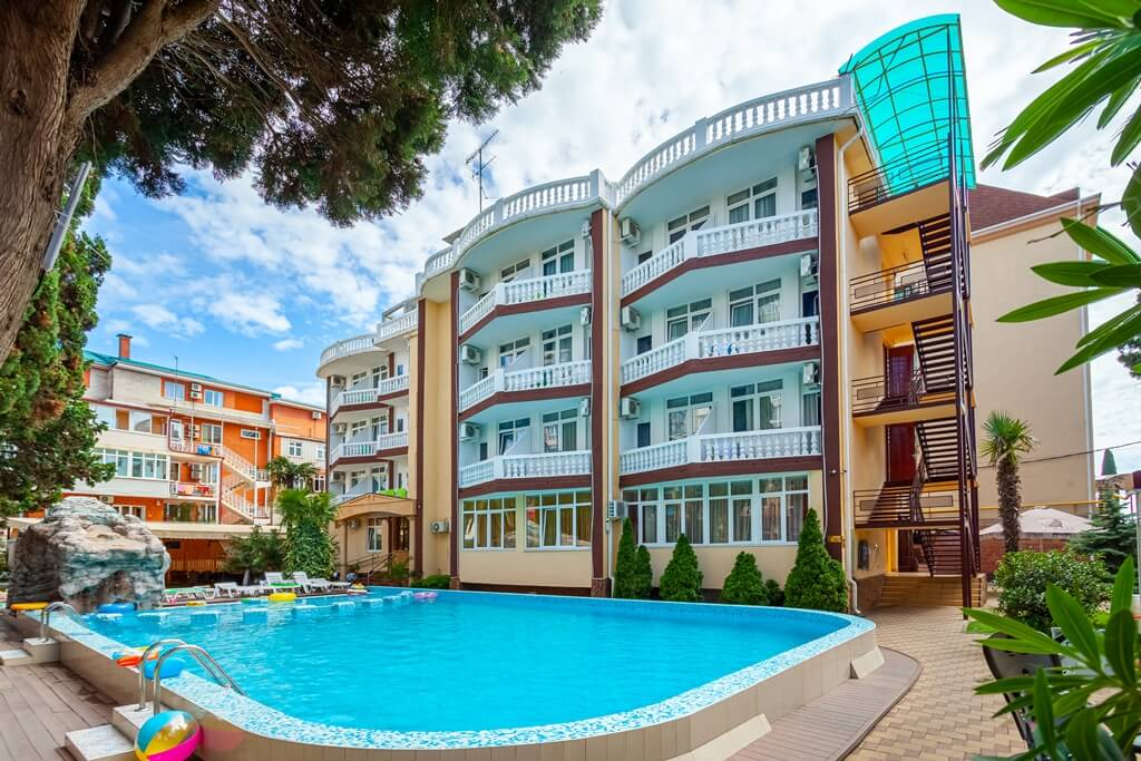 Фото отеля Кипарис в Адлере