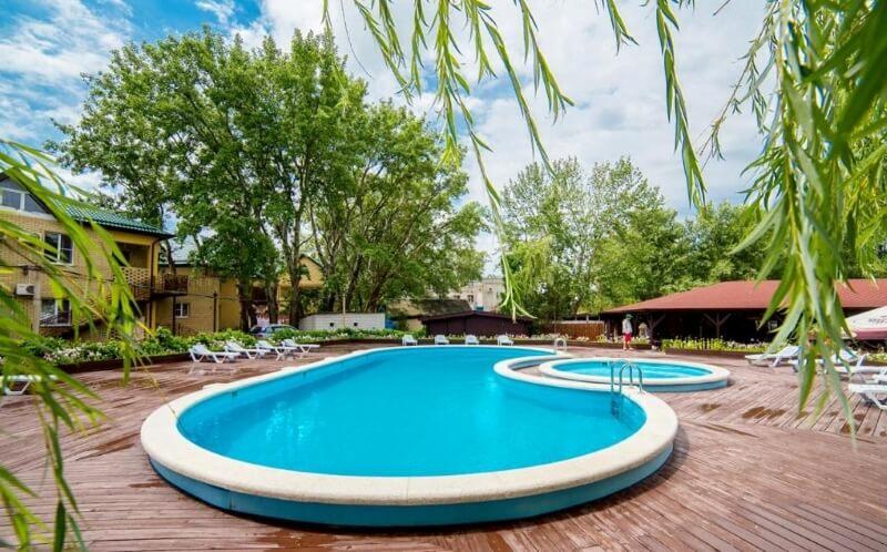 Фото бассейна в Pontos Family Resort Vesta