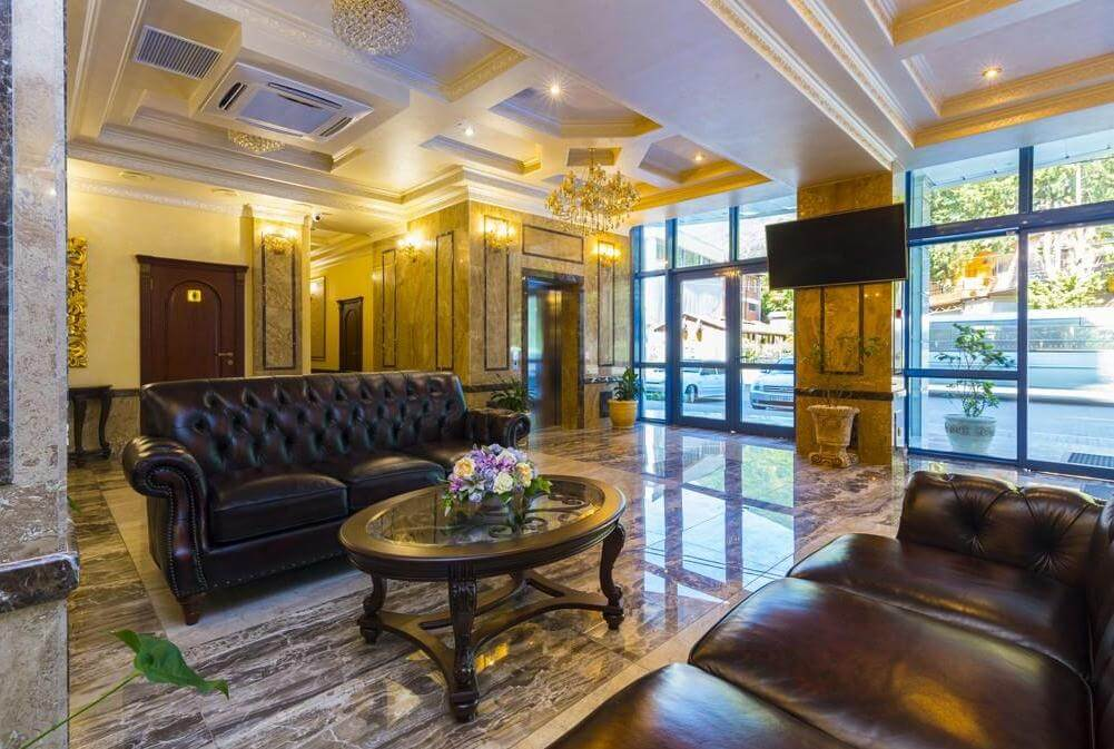 Интерьер отеля Sun Palace (Гагра)