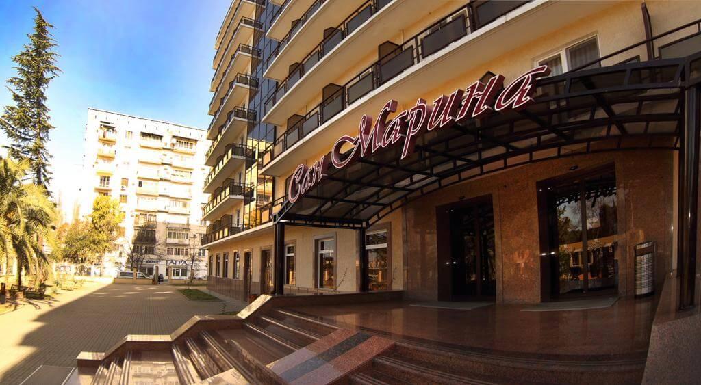 Фасад пансионата «Сан-Марина»