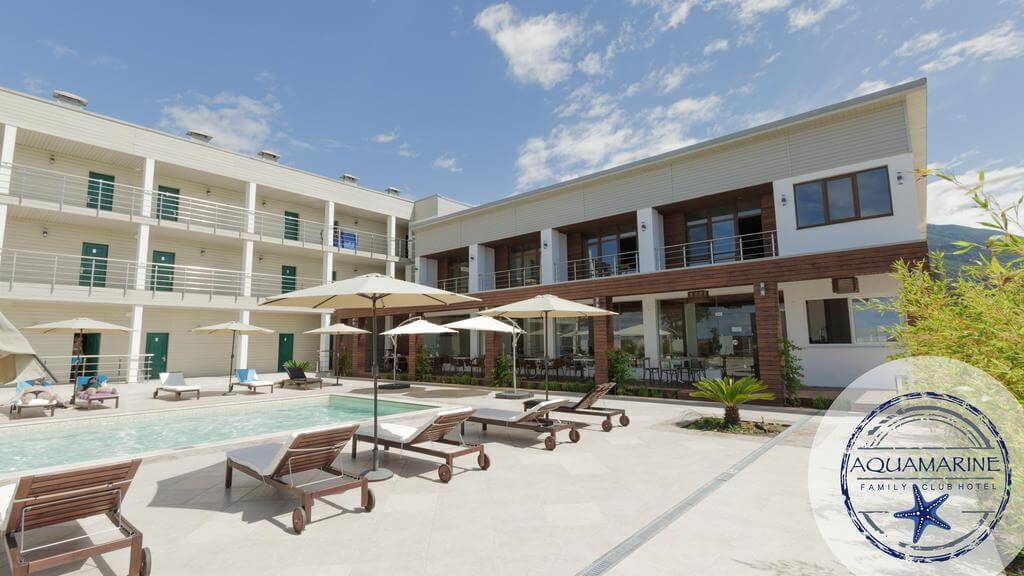 Фото одного из лучших отелей Гагры - Family Club Hotel Aquamarine