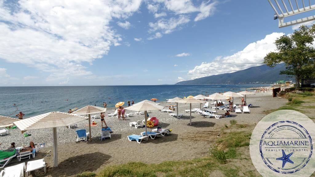 Фото гостиничного пляжа