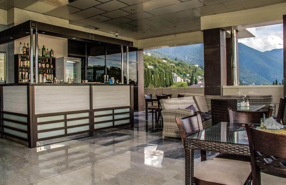 Гостиничный ресторан в Grand Hotel Gagra
