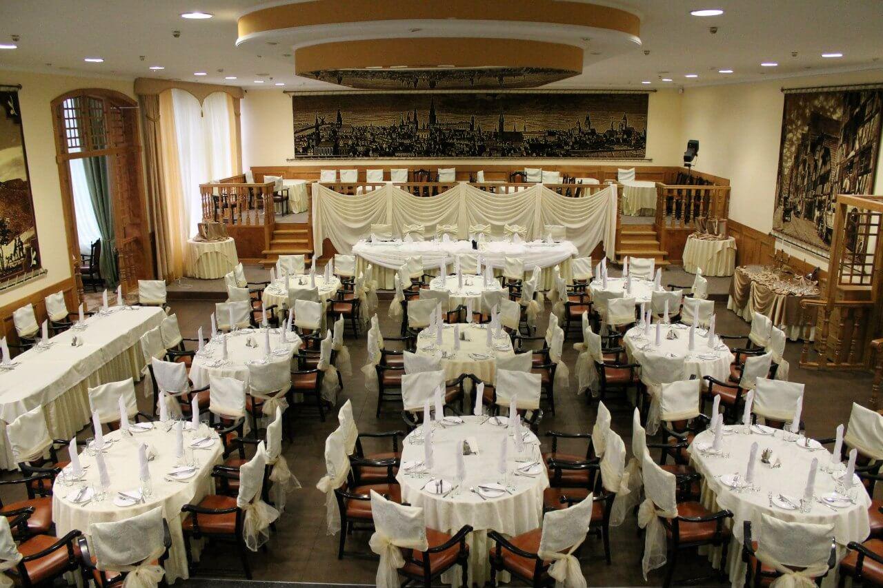Новый год в ресторане отеля Балтика