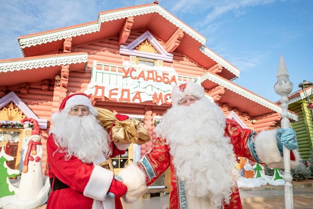 Новогодние каникулы в СочиПарке