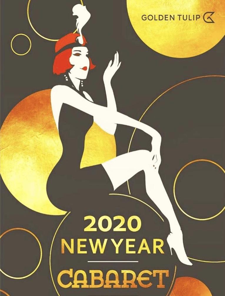 Новогодняя ночь в стиле КАБАРЕ в отеле Голден Тюлип Роза Хутор