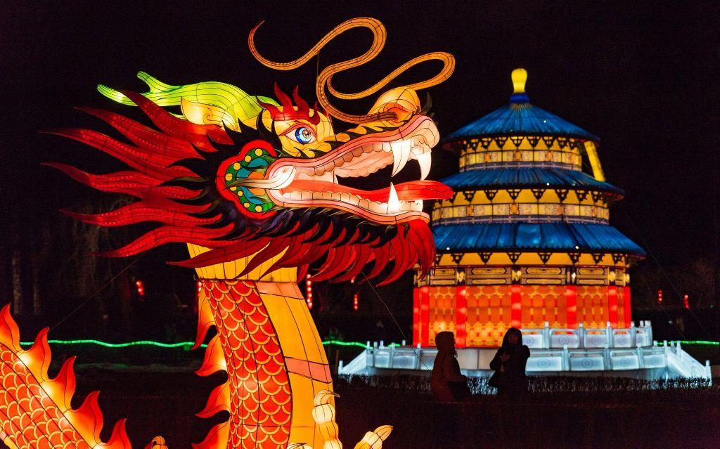 Фестиваль световых фигур