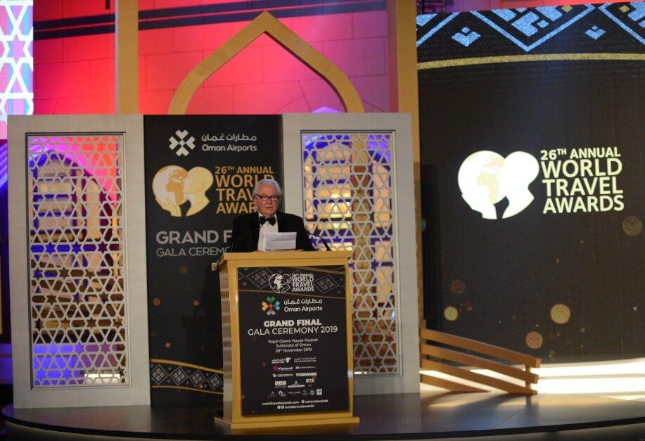 Фото с вручения премии World Travel Awards 2019