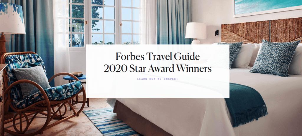 Рейтинг отелей Forbes Star Award 2020