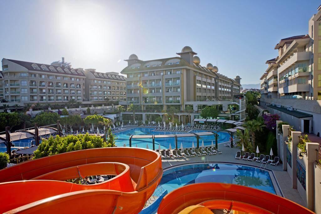 Фото отеля Aydinbey King's Palace - лучшего отеля с «всё включено» в Сиде (Турция)