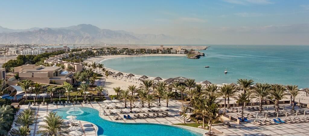 Общий вид на гостиничный комплекс Hilton Ras Al Khaimah Resort & Spa