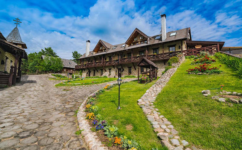 «Старая Мельница», фото территории