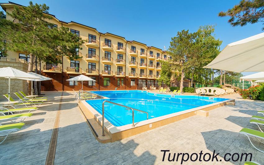Фото отеля Довиль Hotel & SPA All Inclusive. Лучший отель Анапы для отдыха с детьми в категории 5 звезд
