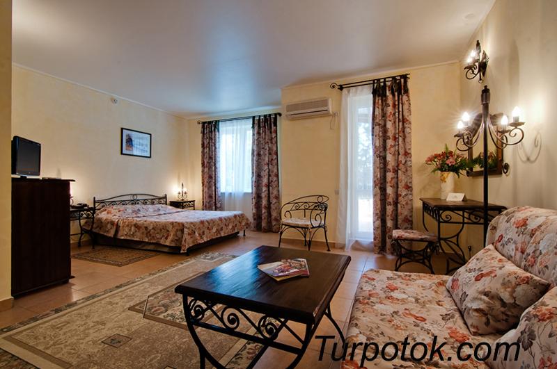 Фото отеля Ривьера-клуб. Отель & SPA All Inclusive. Лучший отель Анапы для отдыха с детьми в категории четыре звезды