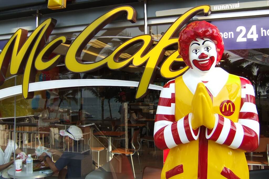 Фото ресторана McDonalds в Таиланде