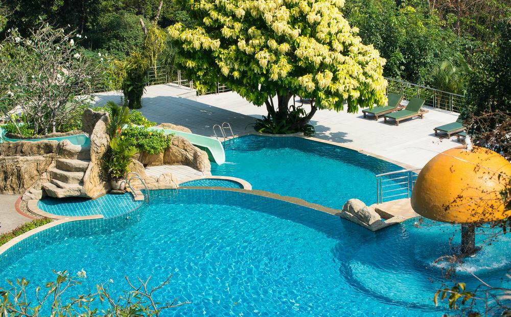 Фото детского бассейна в Sea View Resort Spa