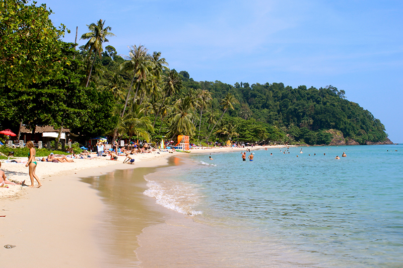 Ко Чанг, пляж Лонли Бич
