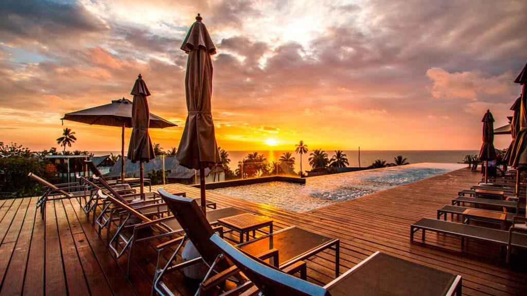 Фото бассейна на крыше отеля КС Гранд Резорт, Ко Чанг