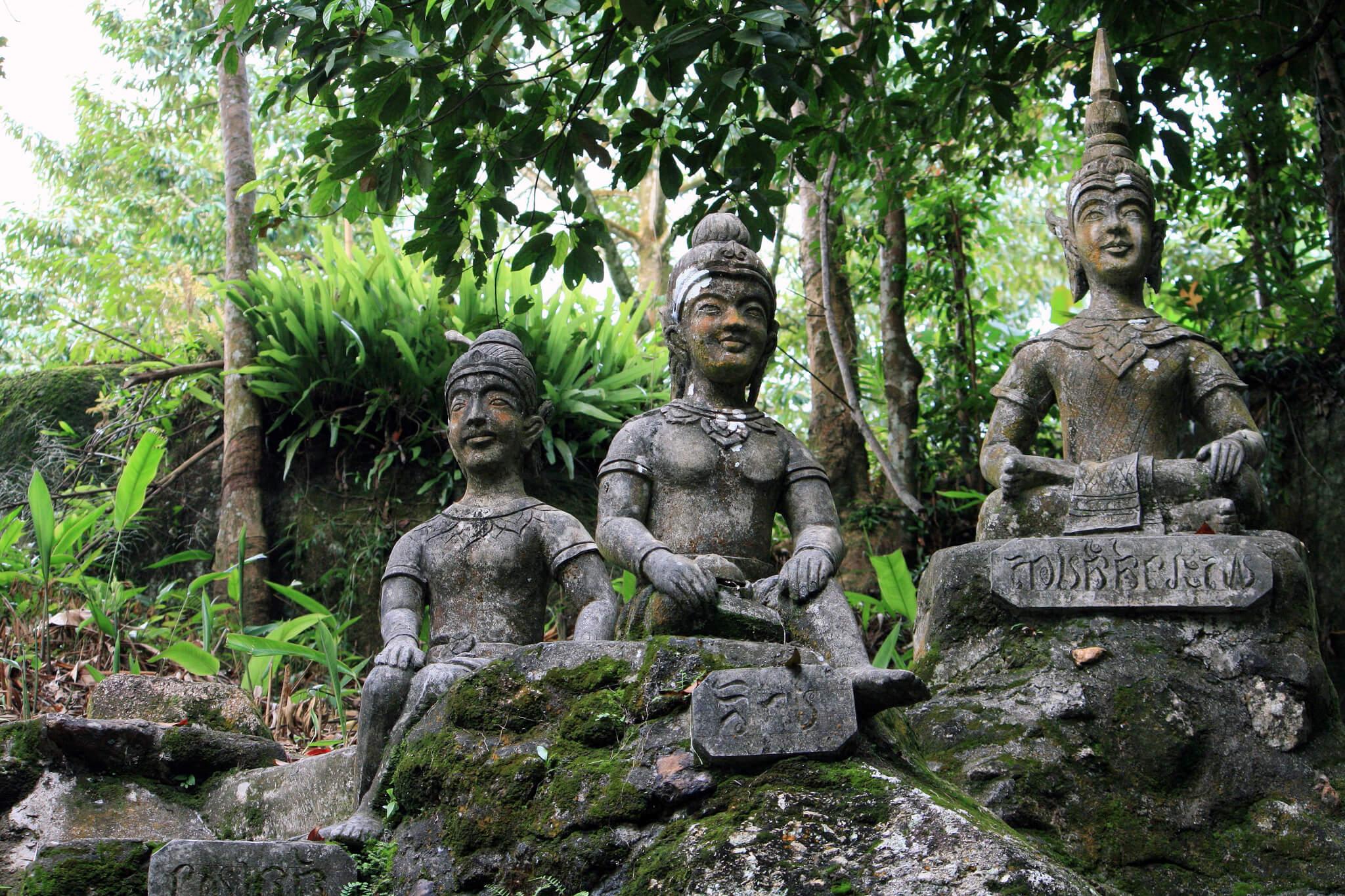 Фото Секретного сада Будды на Самуи
