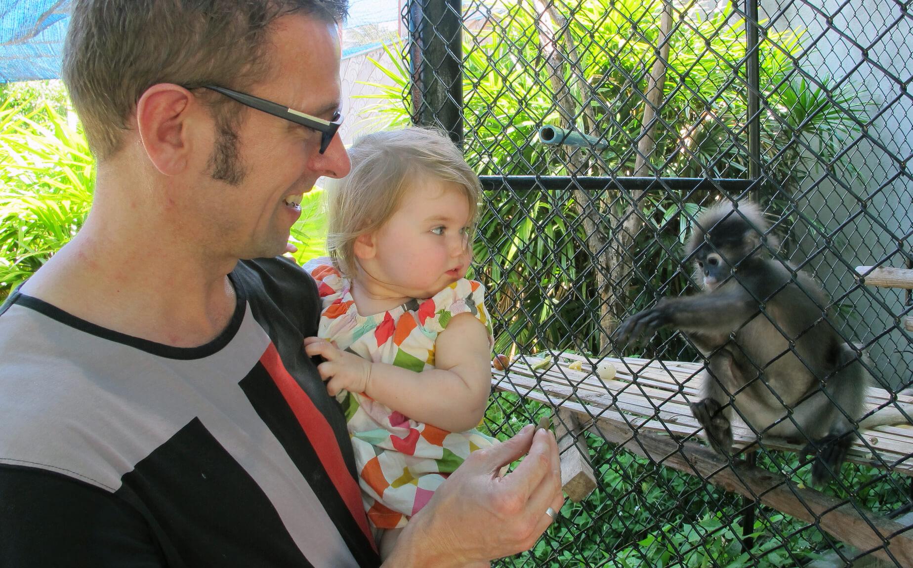 Самуи отдых с детьми, фото мини-зоопарка