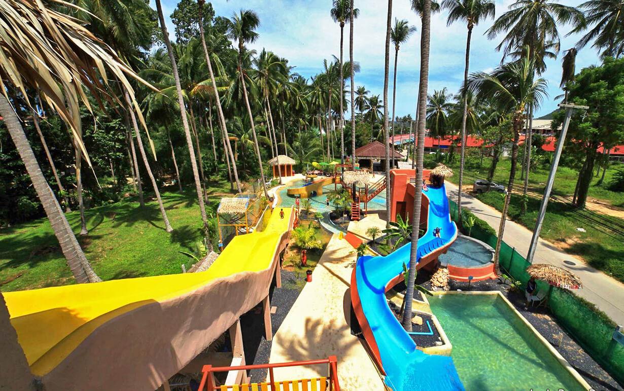 Фото аквапарка в отеле HACIA Resort & Waterpark