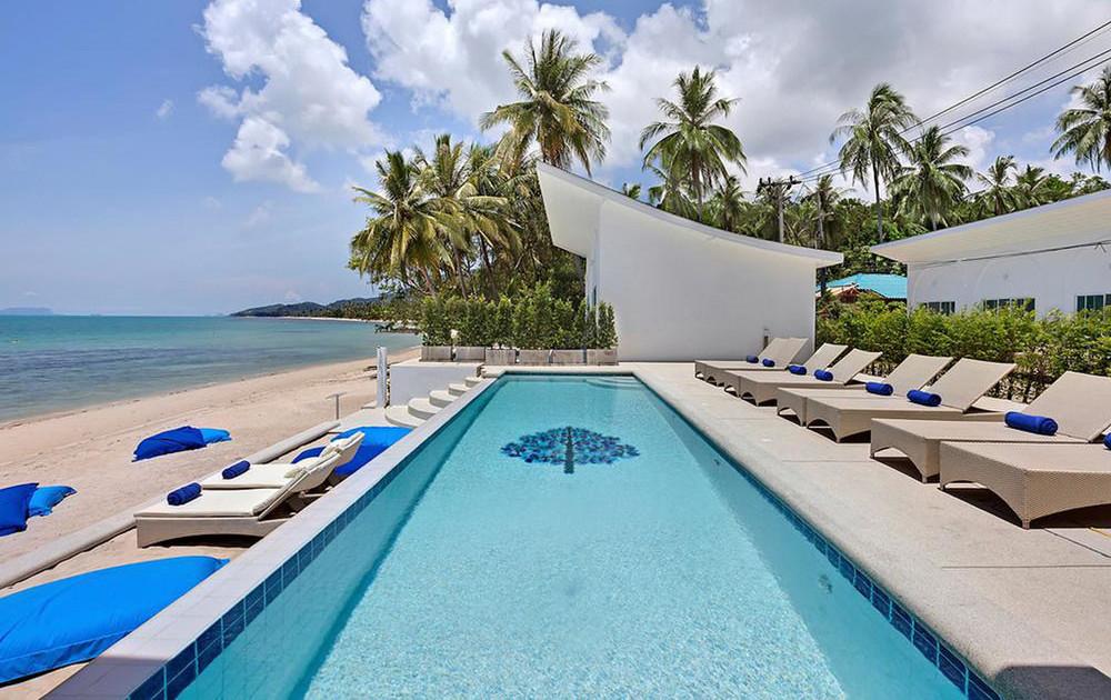 Фото пляжа Бан Тай напротив отеля La Perle Luxury Boutique