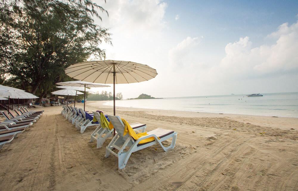 Фото пляжа Чонг Мон напротив отеля Imperial Boat House