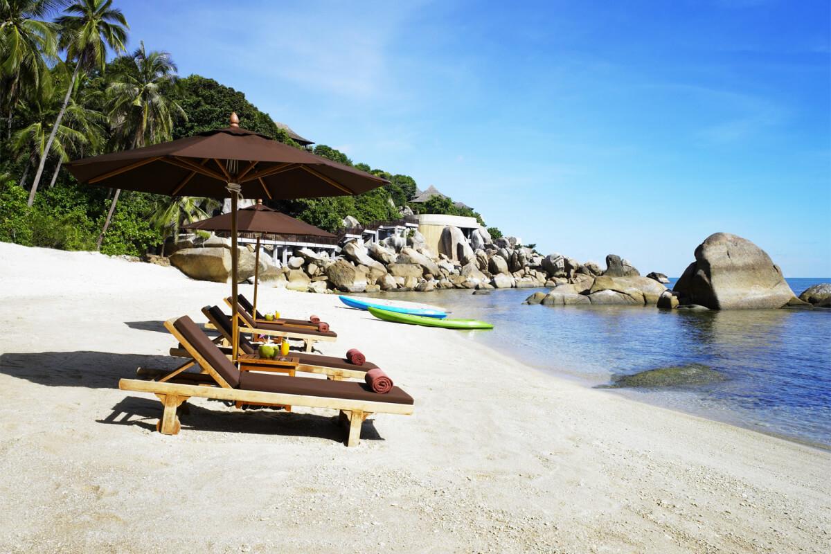 Фото пляжа Лаем Нан напротив отеля Silavadee Pool Spa Resort