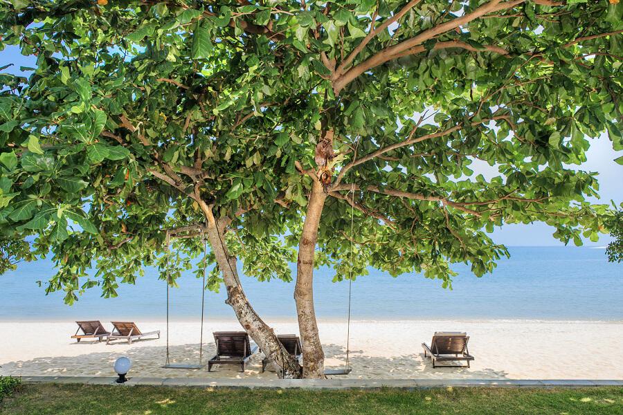 Фото пляжа Липа Ной напротив отеля Sea Valley Hotel