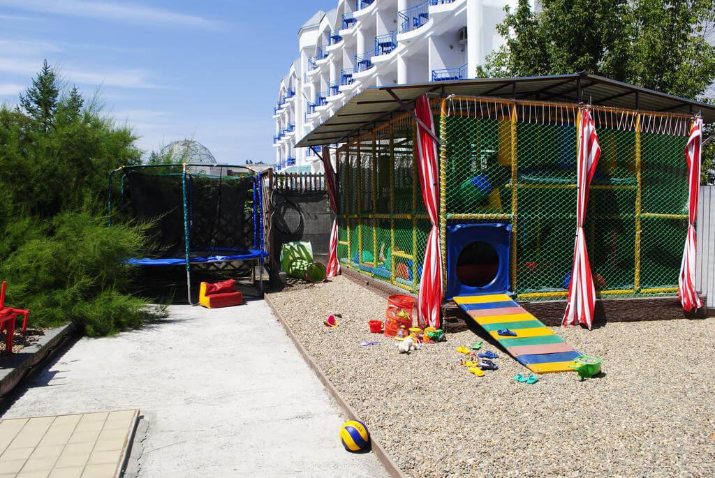 Фото гостевого дома Аква-Солярис в Анапе для статьи «Анапа. Отдых с детьми недорого и с питанием»