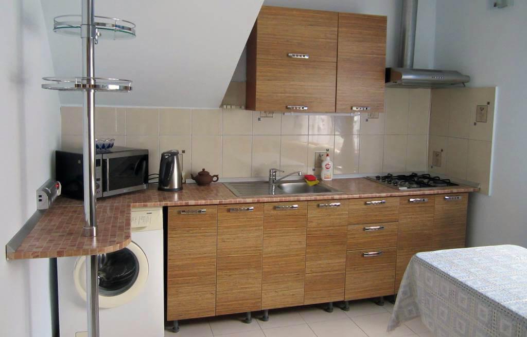 Фото кухни в гостевом доме «На улице Грибоедова» (Сочи)