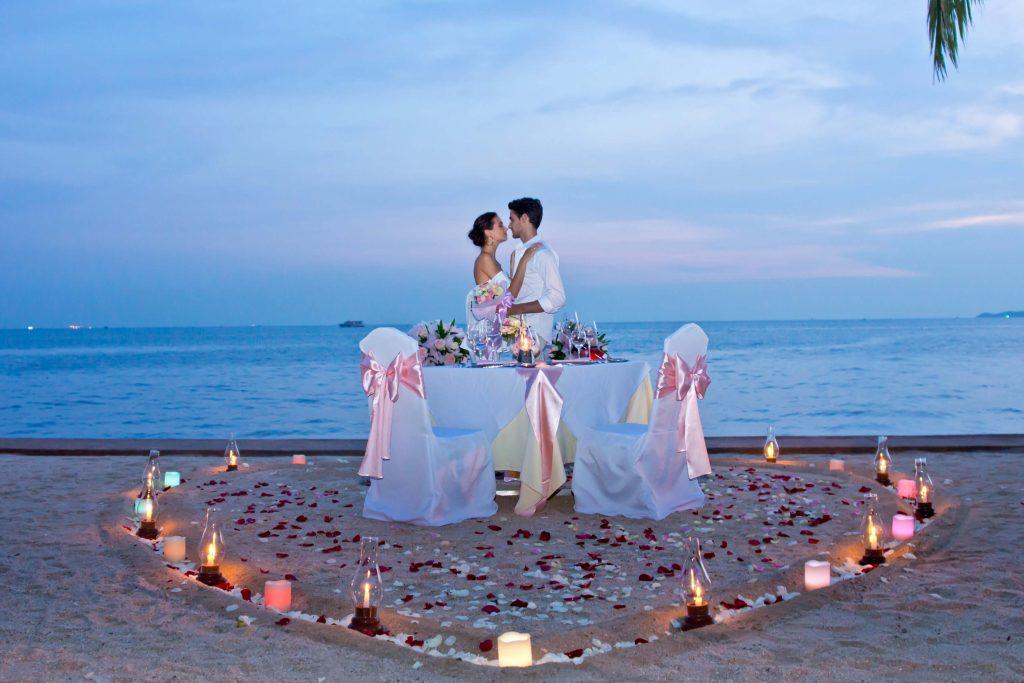 Свадебная церемония в отеле Royal Cliff Pattaya