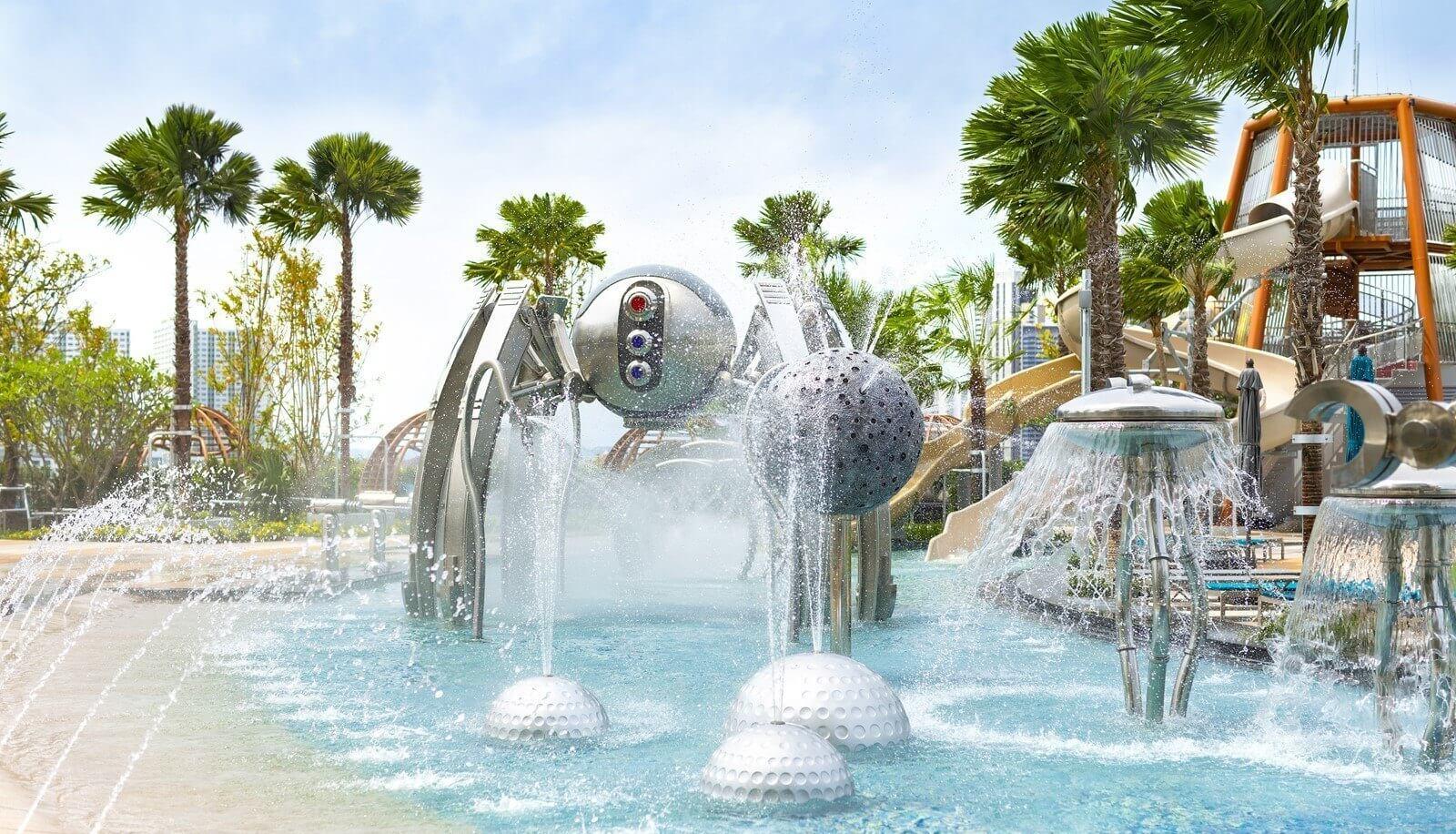 Фото мини-аквапарка при отеле Grande Centre Point в Паттайе