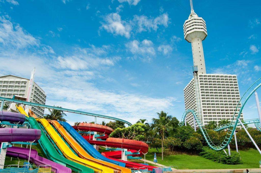 Фотографии отеля с аквапарком в Паттайе: Pattaya Park Beach Resort