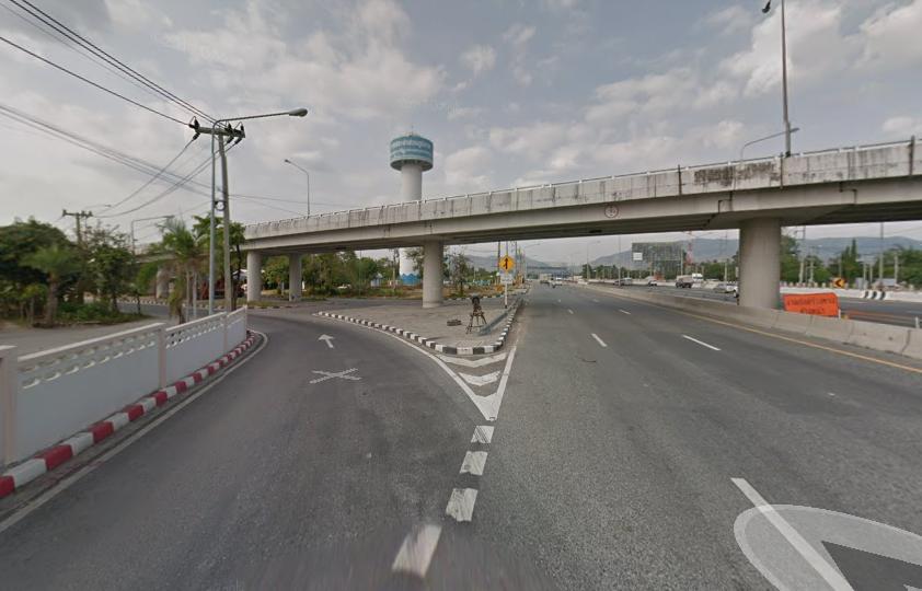 Фото дороги, по которой можно доехать до зоопарка Кхао Кхео в Паттайе