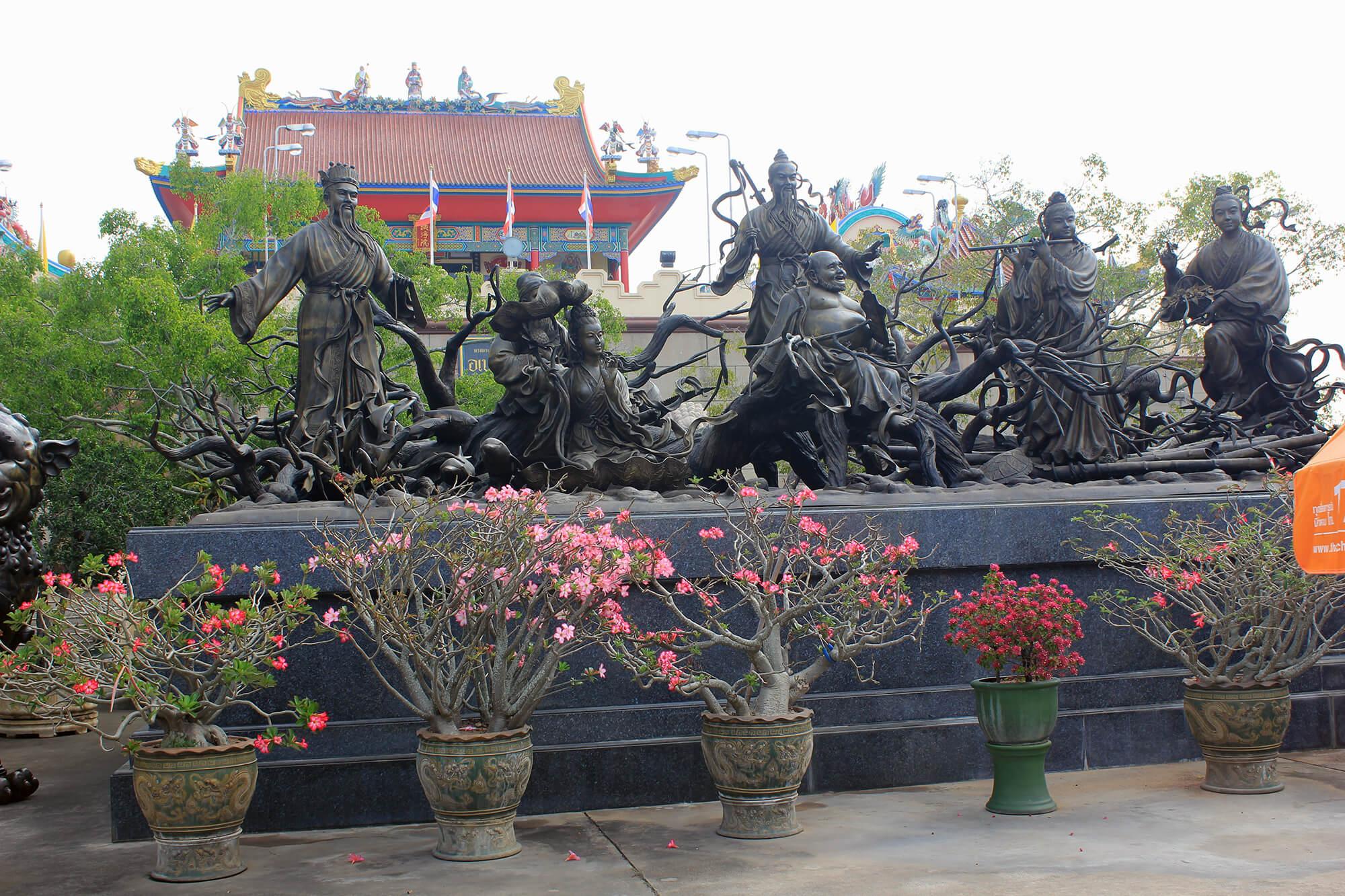 Фото храма Vihara Sien в Паттайе