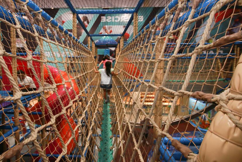 Игровая площадка Harbor Land - лучшее место в Паттайе, где можно провести время с ребенком пока идет дождь