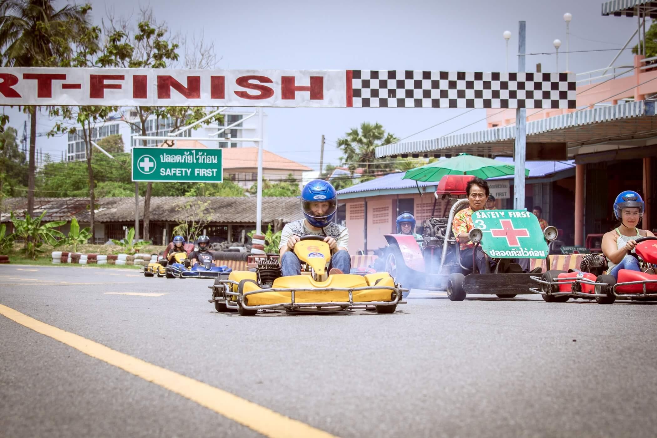 Фото картодрома Kart Speedway в Паттайе