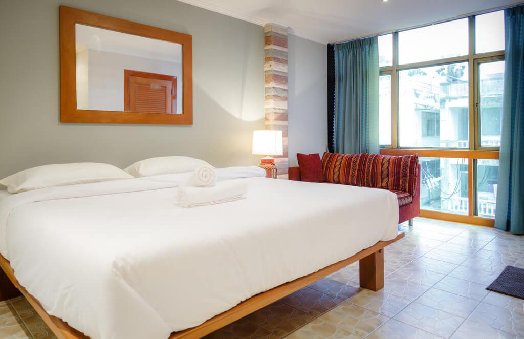 Фото отеля рядом с пляжем Джомтьен в Паттайе
