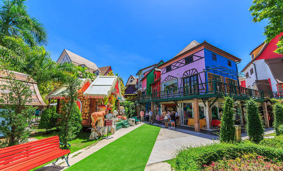 Фото развлекательного комплекса Mimosa в Паттайе