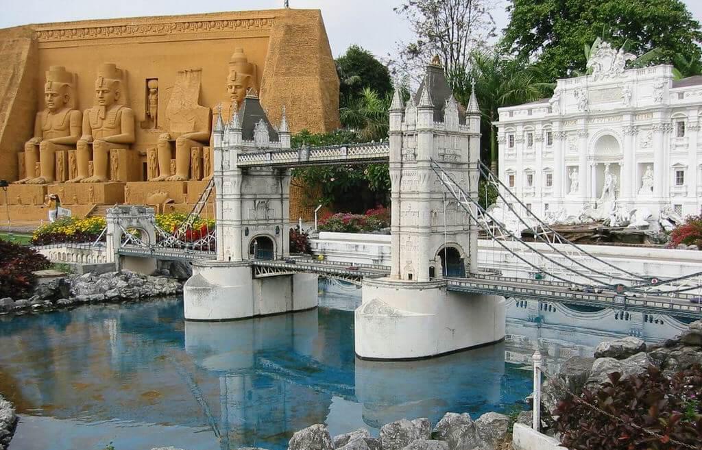 Фото парка миниатюр Mini Siam в Паттайе