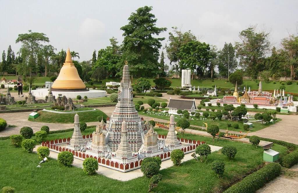 Фото парка Мини Сиам в Паттайе