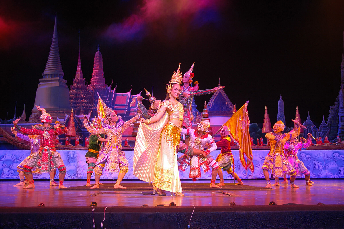 Фото шоу Alangkarn в Паттайе