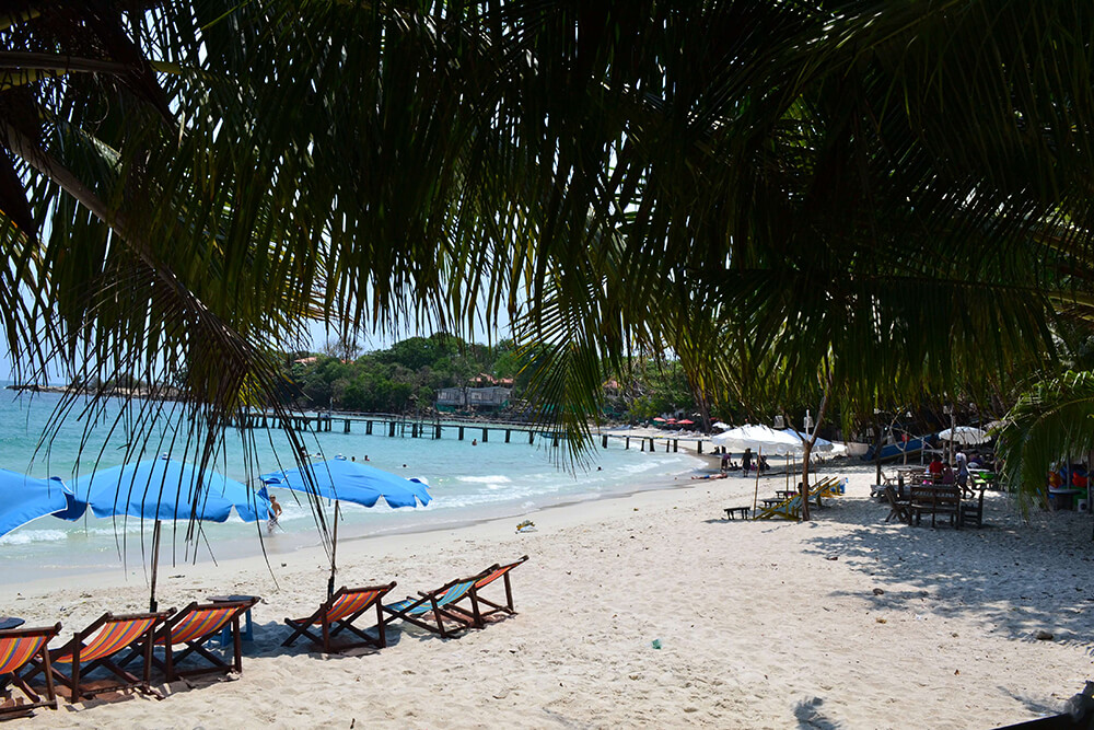 пляж Ao Hin Khok на Самете