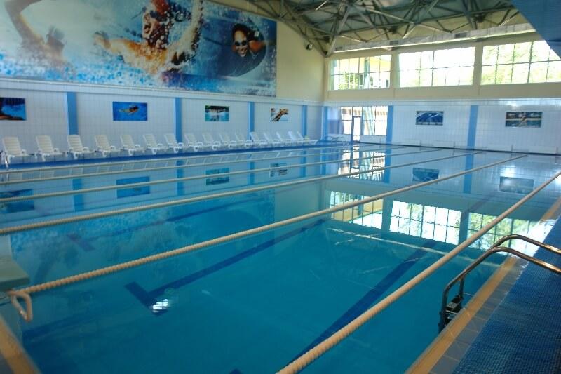 """Фото крытого 25-метрового бассейна в спорткомплексе """"Весны"""""""